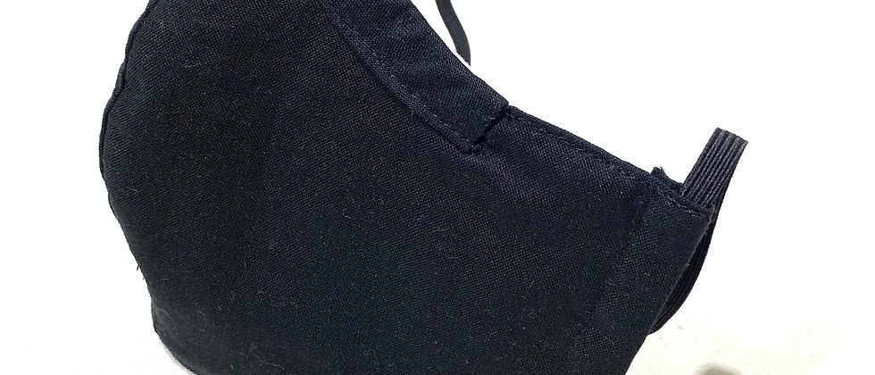 全棉口罩- 黑色