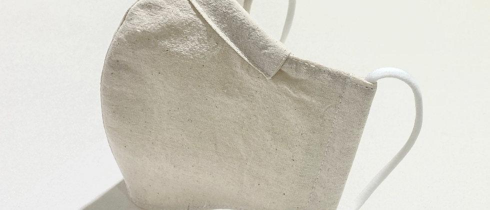 全棉口罩- 無漂染
