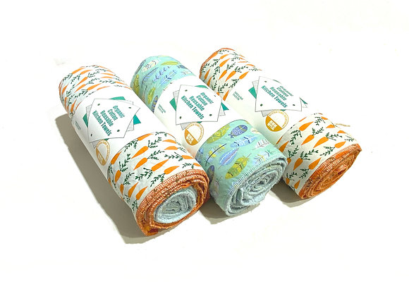 Reusable Organic Cotton Kitchen Towel