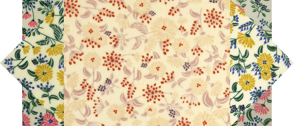 蜜蠟布家庭裝 - 花花