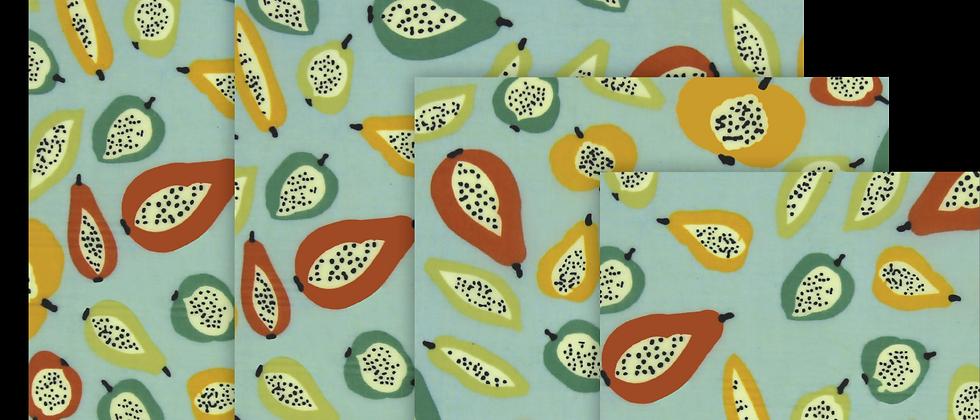 蜜蠟布 - 奇異水果