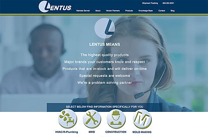 Lentus website development.png