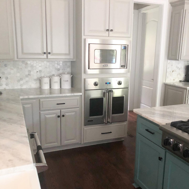 Renovated Farmhouse Kitchen
