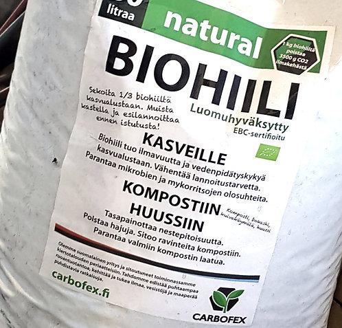 Biohiili natural 70 litraa