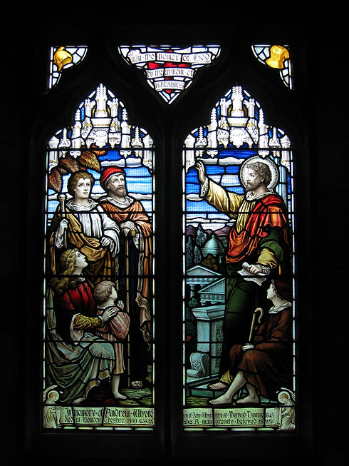 150_5065 parish church stained glass win