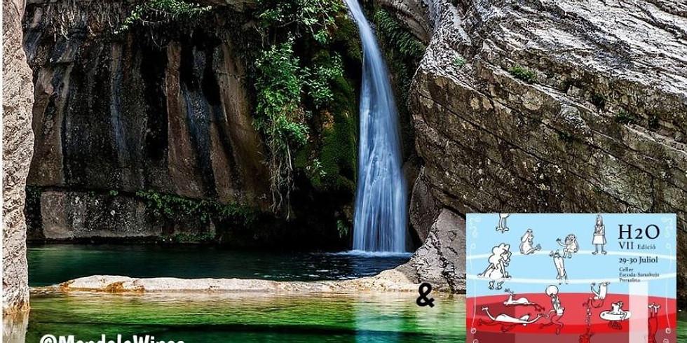Natural river pools of Montblanc & Festival H2O de vino natural