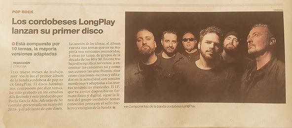 Diario Córdoba y LONGPLAY