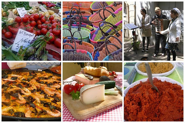 Olonzac market day