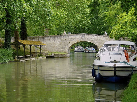 UNESCO Listed Canal du Midi