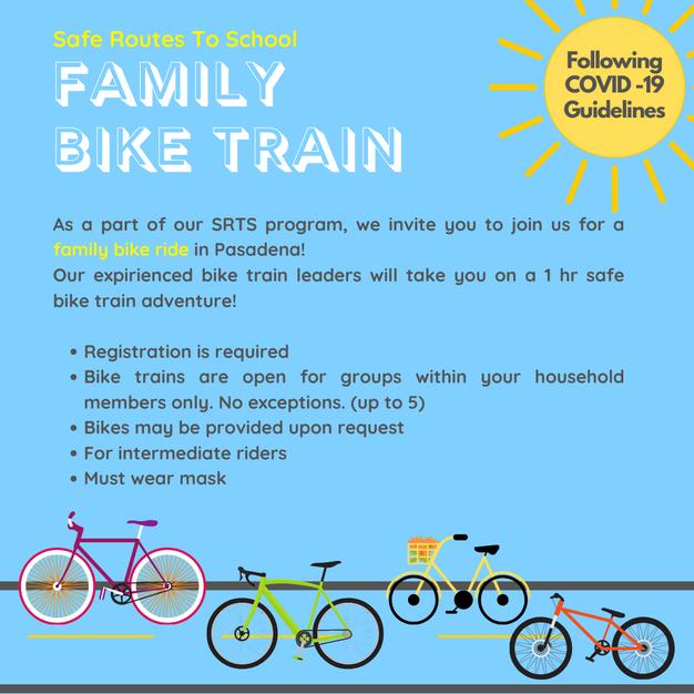 Family Bike Train