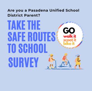 Safe Routes Parent Survey