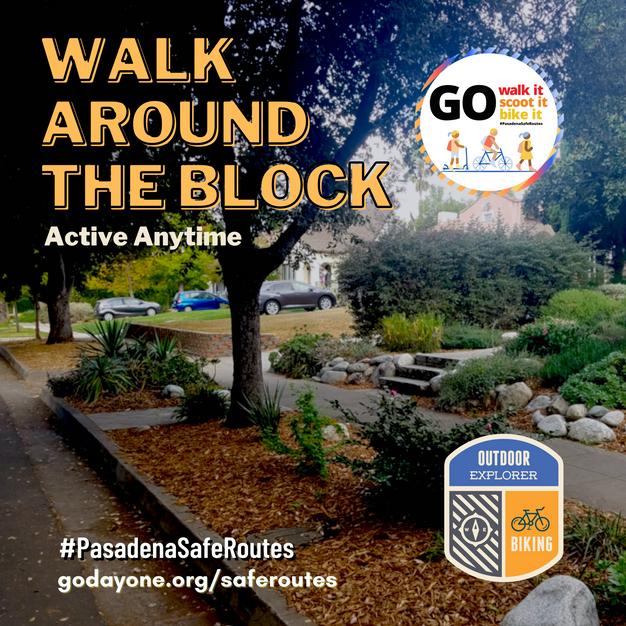 (Virtual Activity) Walk Around the Block