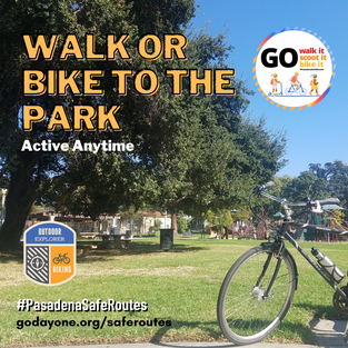(Virtual Activity) Walk or Bike to the Park