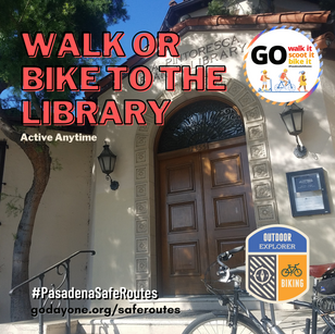 (Virtual Activity) Walk or Bike to the Library