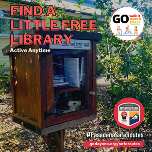 (Virtual Activity) Find A Little Library