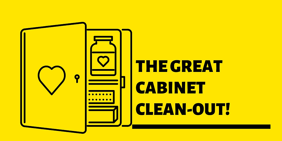 The Great Cabinet Clean-Out!