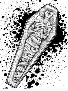 InkTober: Buried