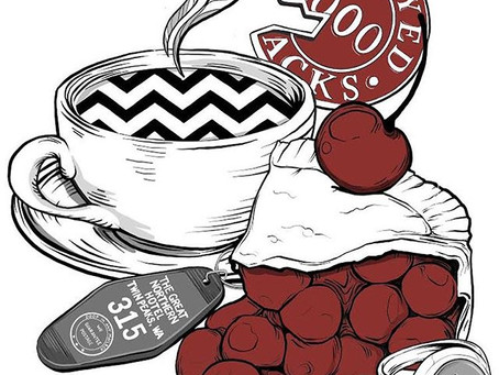 Twin Peaks Licensed Art