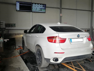 BMW X6 E71 3.5D 286hp Stage 1 & 2