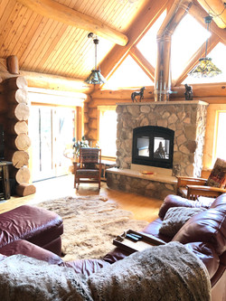 Great Room will warm you!