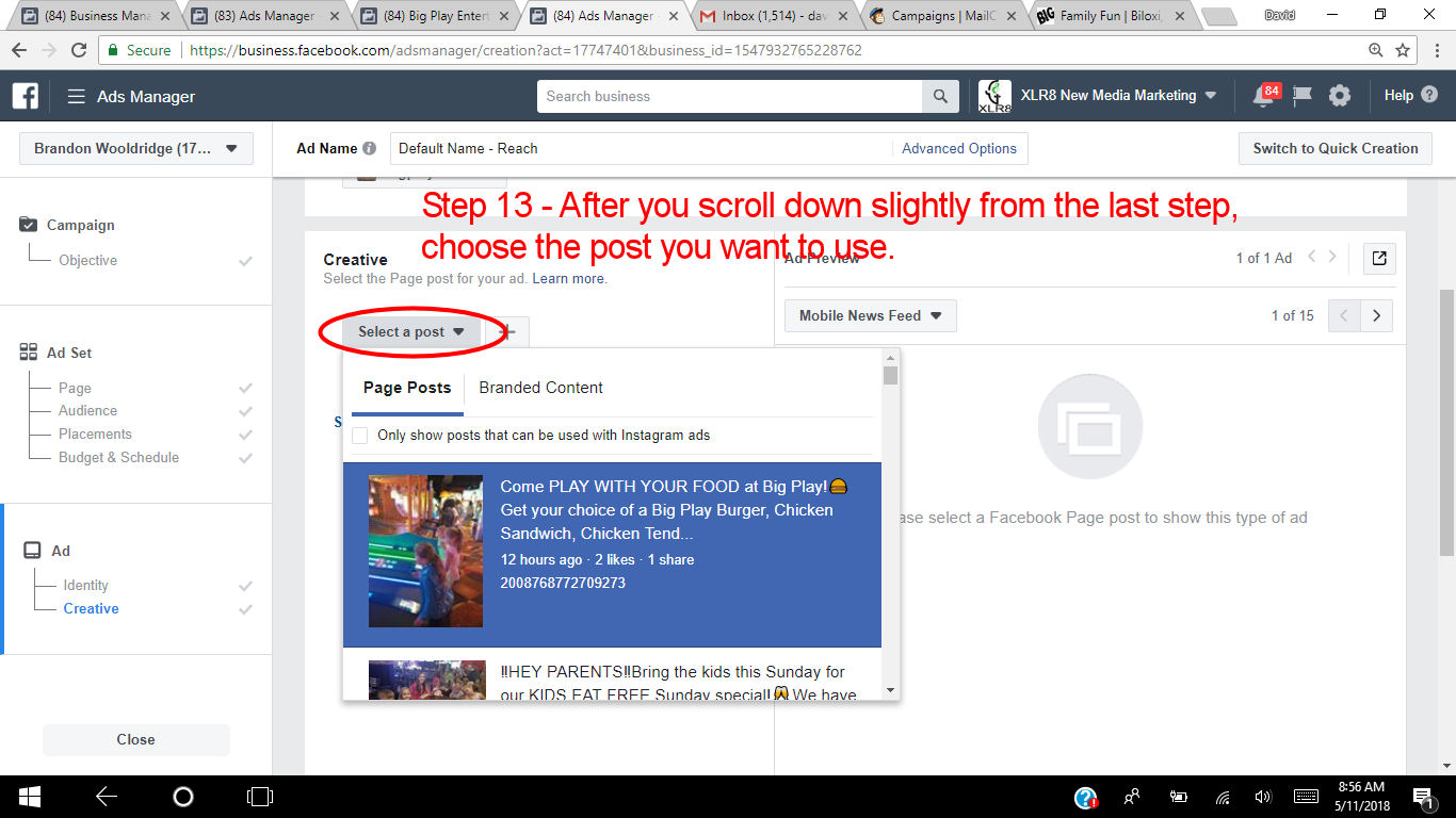 How to use Facebooks Ads Manager