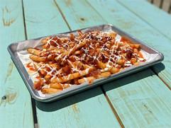 Coastal Daiquiri Bar & Grill | Loaded Pulled Pork Fries