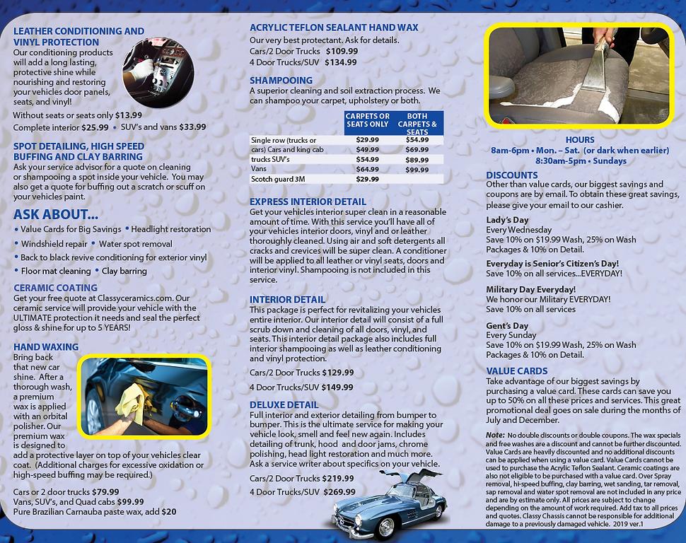94975 Classy Chassis Car Wash_Brochure I