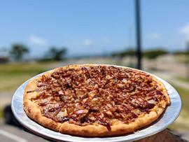 Coastal Daiquiri Bar & Grill | Smoked Pulled Pork Pizza