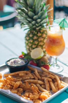 Coastal Daiquiri Bar & Grill | Fried Shrimp Plate