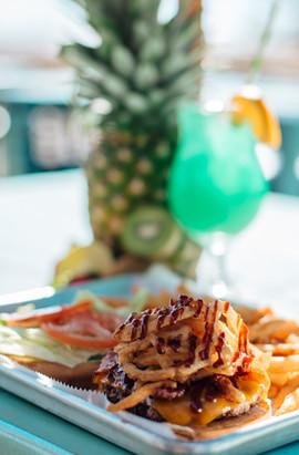 Coastal Daiquiri Bar & Grill | BBQ Bacon Burger