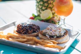 Coastal Daiquiri Bar & Grill | Pulled Pork Sandwich