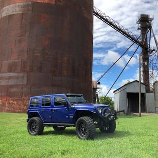 Lifted Jeep JL