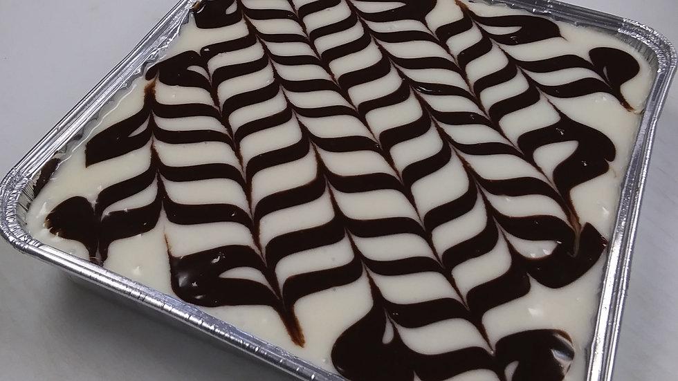 "Cream Cheese Brownies 8"" Tin"