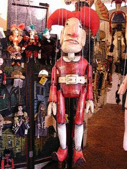 my puppet, Czech