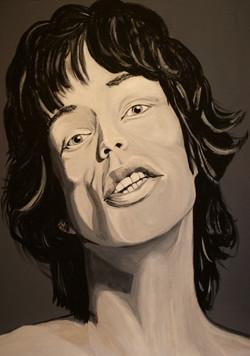 Young Mick Jagger