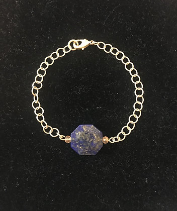 Woman's Gold and Lapis Lazuli