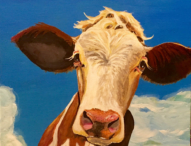 Maeve, the cow by Beth Denenny