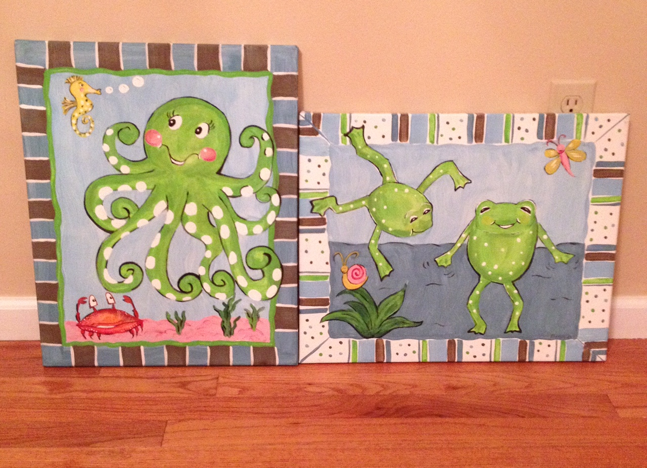 Octopus & Frog fun