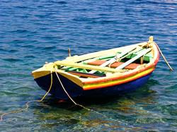 Therasia, Greece boat