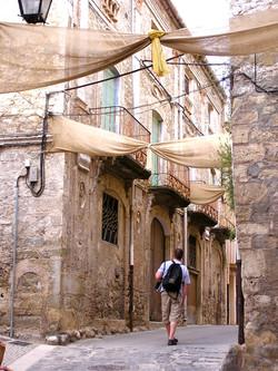 Besalu streets, Spain
