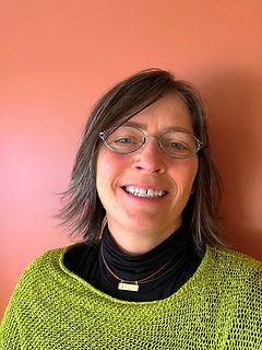 Heather Dundas smiling at work