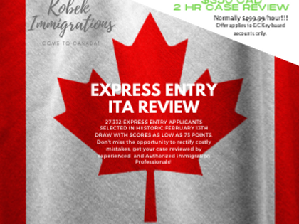 Express Entry ITA Review Promo