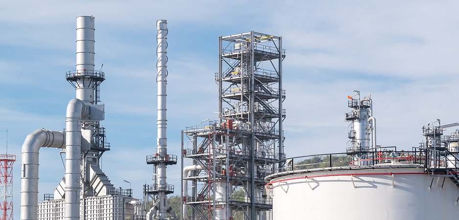 Oil refinery plant, Power and energy ind