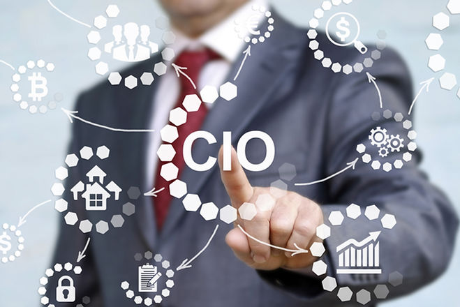 CIO or chief information officer concept