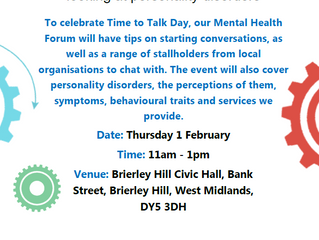Mental Health Forum 1 February 2018