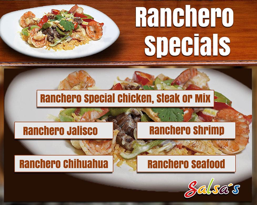 RANCHERO SPECIALS