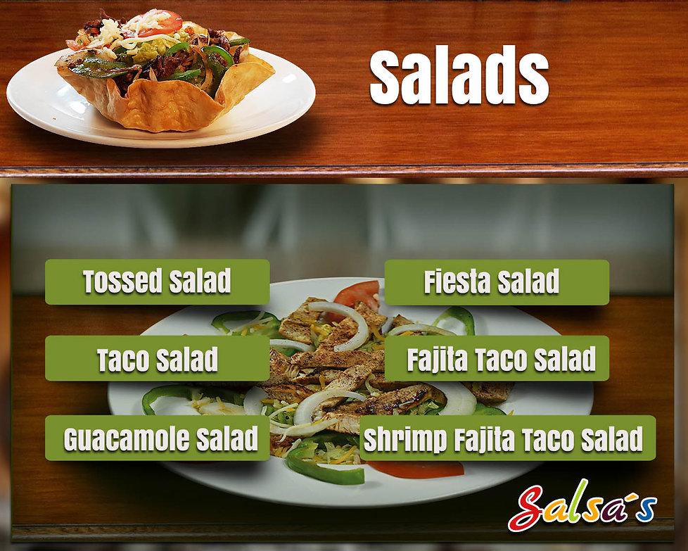 Salads salsa's