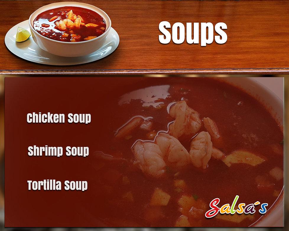 Soups salsa's