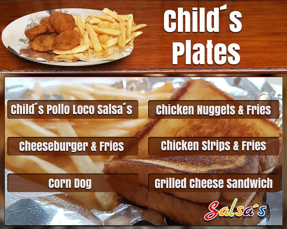 Child's plates