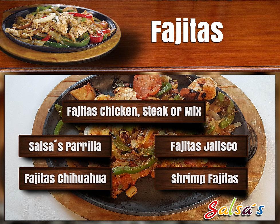Salsa's fajitas